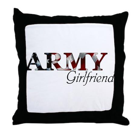 Army Girlfriend Pillows, Army Girlfriend Throw Pillows