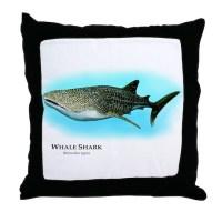 Whale Shark Pillows, Whale Shark Throw Pillows ...