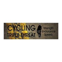 TOP Cycling Slogan Wall Decal by limitlesspos