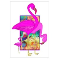 Pink Flamingo Wall Art | Pink Flamingo Wall Decor