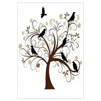 The Raven's Tree Wall Decal
