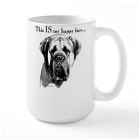 English Mastiff Face Coffee Mugs | English Mastiff Face ...