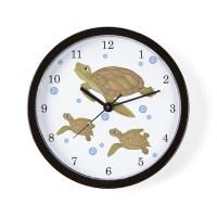 Sea Turtle Wall Clock by TotsOFun
