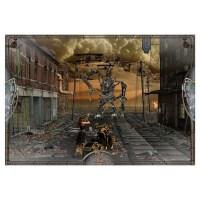 SteamPunk Fighter Wall Art Wall Decal