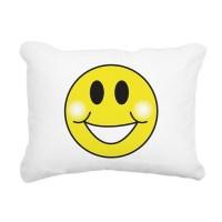 Yellow Happy Face Pillows, Yellow Happy Face Throw Pillows ...