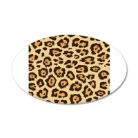 Leopard Animal Print Wall Sticker by PrintedLittleTreasures