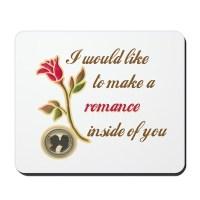 Make a Romance Mousepad by jmexpressions