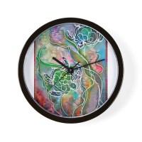 Sea Turtles Clocks | Sea Turtles Wall Clocks | Large ...