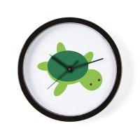 Turtle Wall Clock by imaginarystory