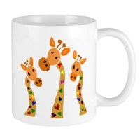 Whimsical Giraffe Art Mug by listing-store-18688062