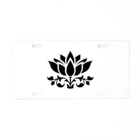 lotus vanity plates