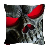 Skull Pillows, Skull Throw Pillows & Decorative Couch Pillows