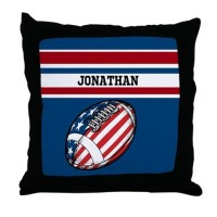 Football Pillows, Football Throw Pillows & Decorative ...