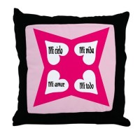 ValentineThrow Pillow Spanish espanol by copamundial2006