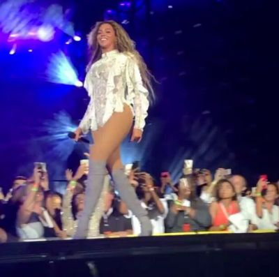 Was Beyonce actually flawless on tour? Fan pictures reveal what she really looked like during ...