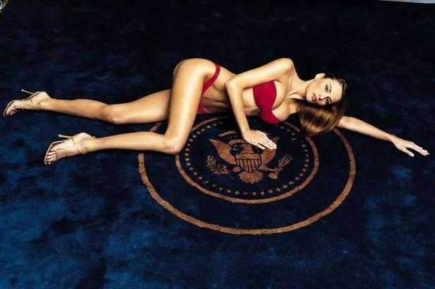 Melania Trump in January 2000