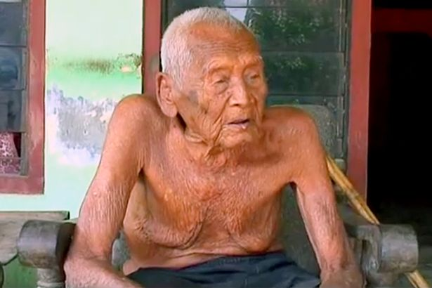 Mbah Gotho, an Indonesian man who has emerged from obscurity to be named the world's oldest at an incredible 145 years