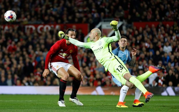 Willy Caballero in action