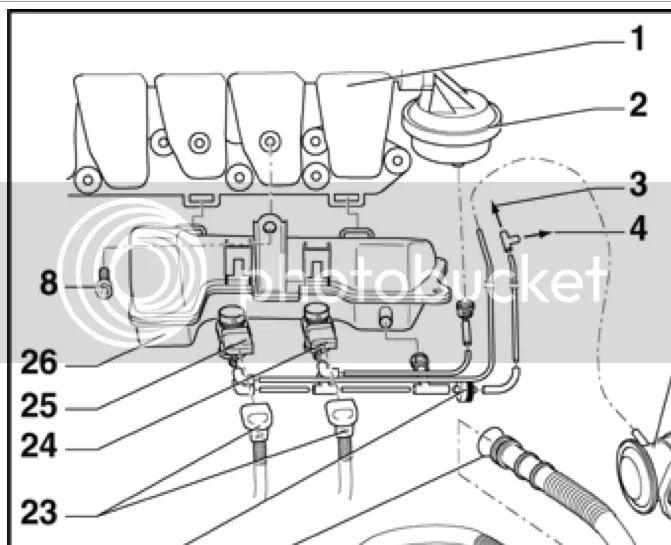 intake air flow valve control circuit