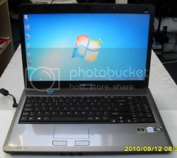 "Details about MEDION AKOYA P6613 LAPTOP 2GHZ 4GB RAM 320GB 16"" HD PC"