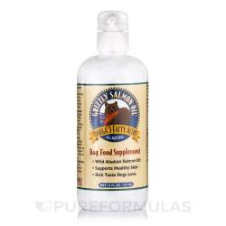 Smothery Grizzly Salmon Oil Dogs 16 Oz By Grizzly Pet Products Salmon Oil Dogs Dosage Dogs Calories Salmon Oil bark post Salmon Oil For Dogs