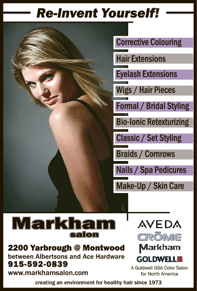 Markham Hair Salons El Paso Tx 79925 Yp