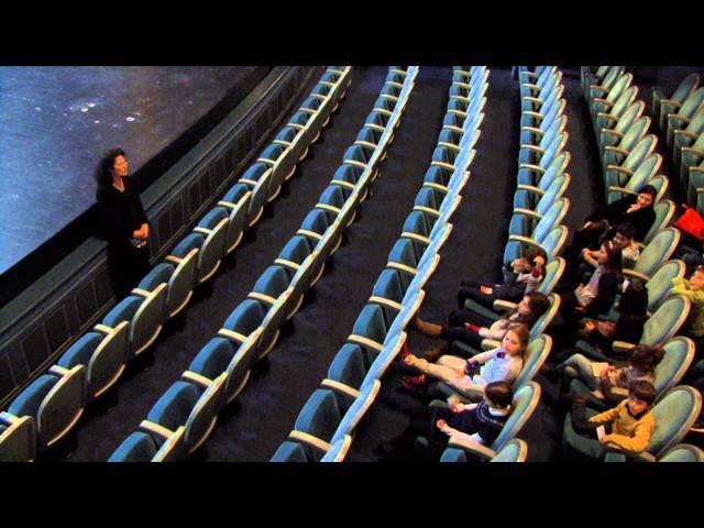 Théâtre Graslin à Nantes, visite pédagogique.