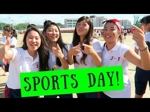 Japanese High School Sports Festival!