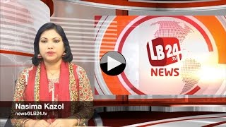 LB24tv evening news 08 April 2016