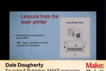 MAKE Hardware Innovation Workshop Part 5: DaleDougherty