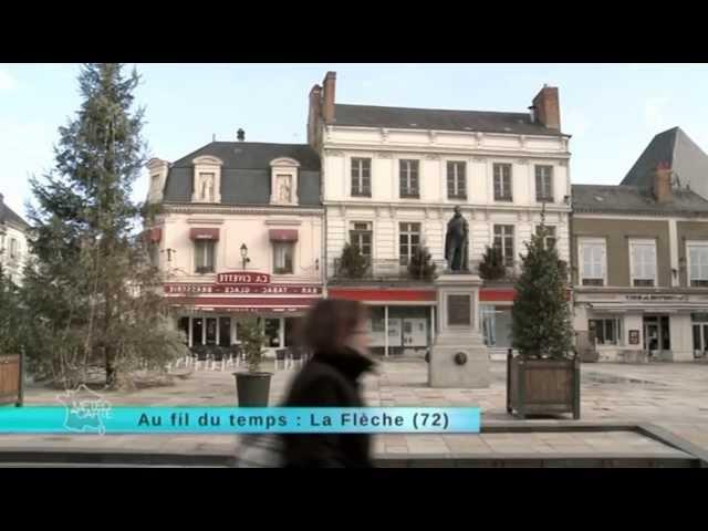 La Flèche : ville d'histoire intimement liée à Henri IV