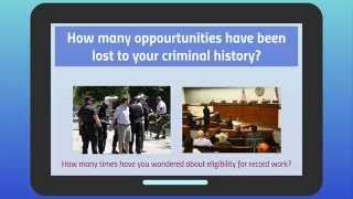 Criminal Record Sealing or Expunge