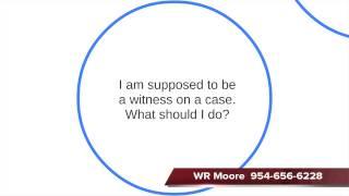 Criminal Court Witness