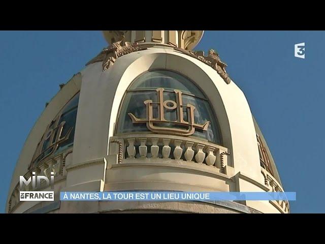 Nantes : la Tour LU est unique