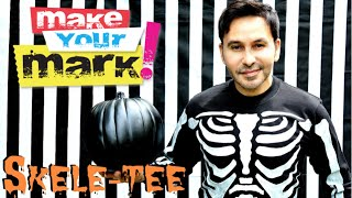 How to: Halloween Skele-Tee