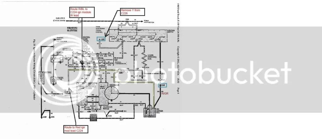 Ford Duraspark Ii Ledningsdiagram - Auto Electrical Wiring Diagram