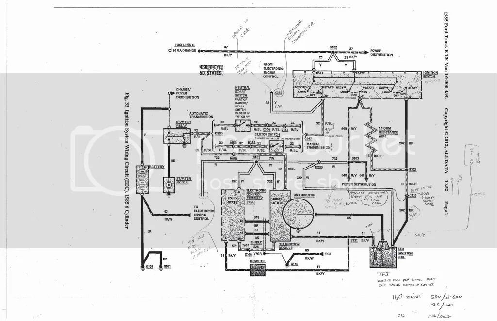 92 ford f 150 302 wiring diagram