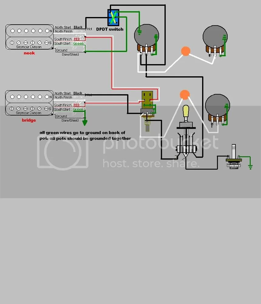 coil tapping les paul wiring diagram