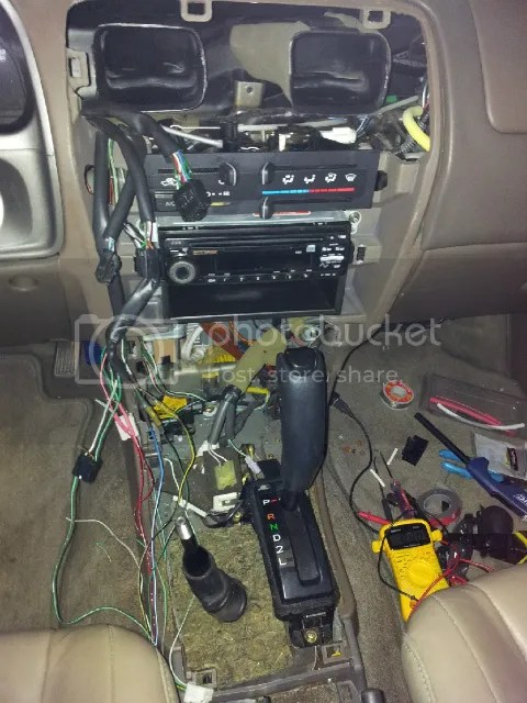 2000 4runner wiring diagram how to center dash conversion wiring