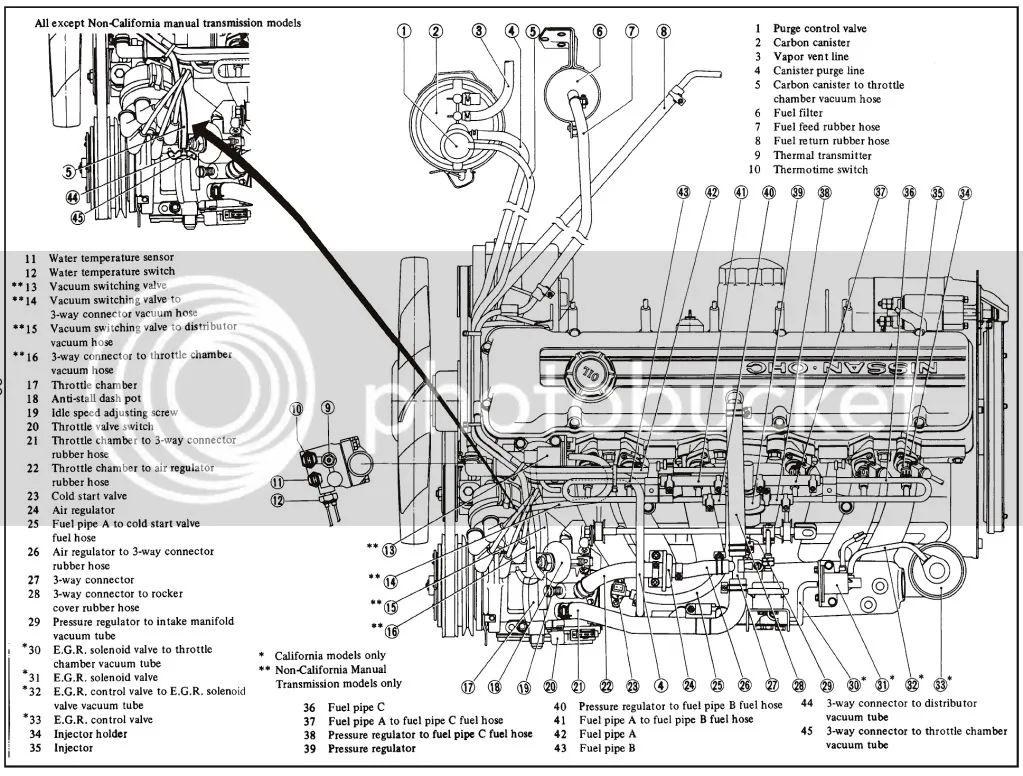 280z fuel system diagram