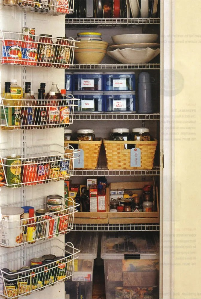 Organized Kitchen Pantry All Things G D