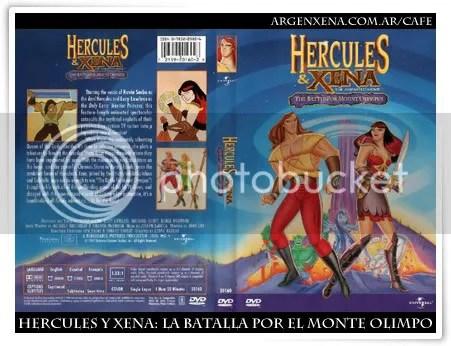 Hércules y Xena: La Batalla por el Monte Olimpo DVD