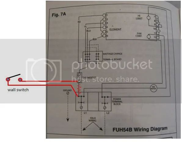fahrenheat thermostat wiring diagram
