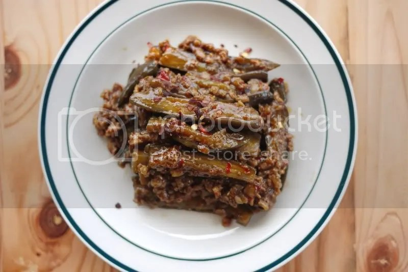 Szechuan Eggplant (1/4)
