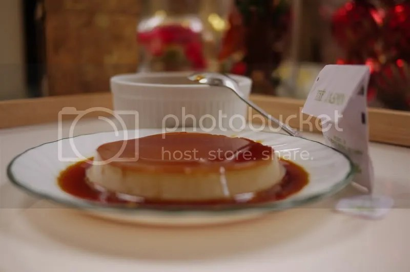 Green Tea Leche Flan  (1/6)