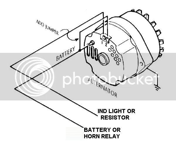 88 chevy alternator wiring diagram