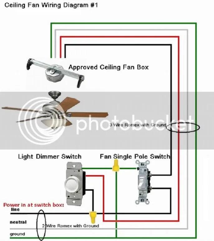 Wiring diagram hunter fan model 9308R - Fixya