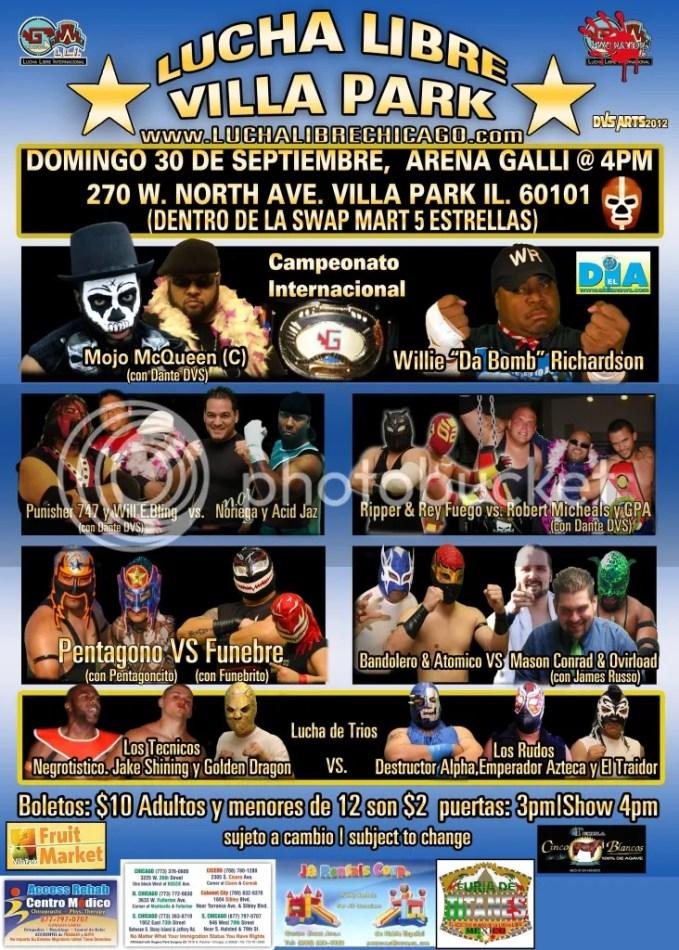 Lucha Libre GALLI 30 de Septiembre