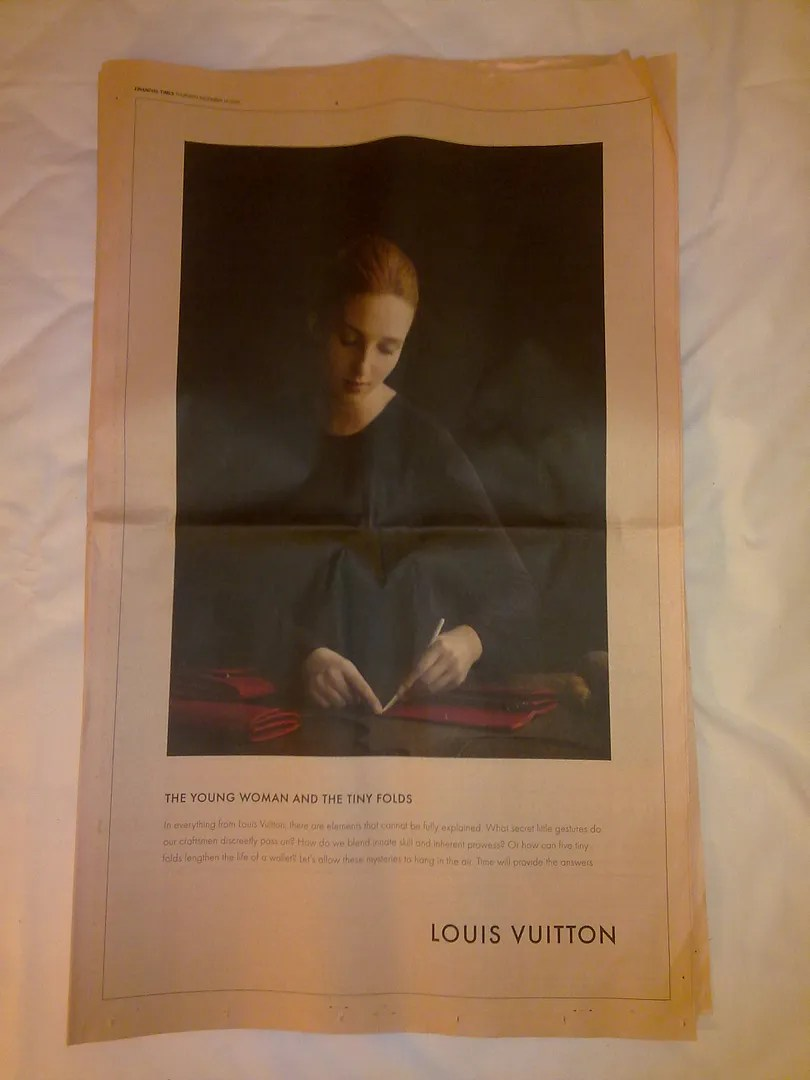 Louis Vuitton Ad Campaign