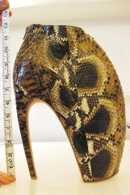 alexander mcqueens python armadillo shoes spring 2010